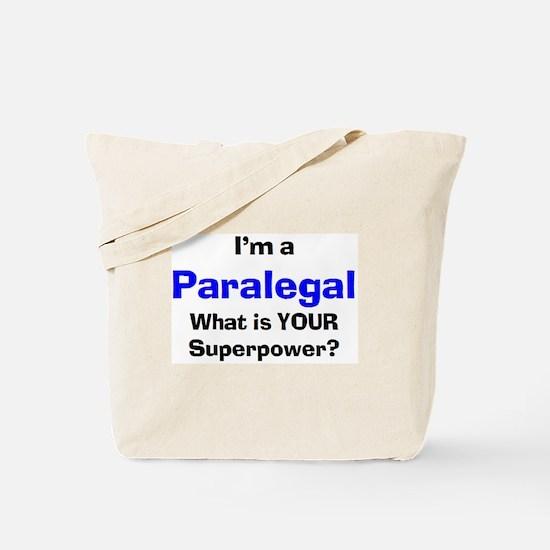 paralegal Tote Bag