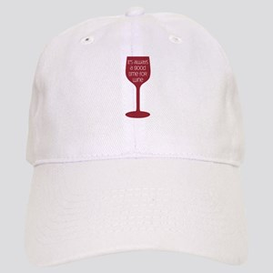 Good Time For Wine Baseball Cap