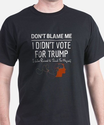 Cute Dont blame me i voted romney T-Shirt