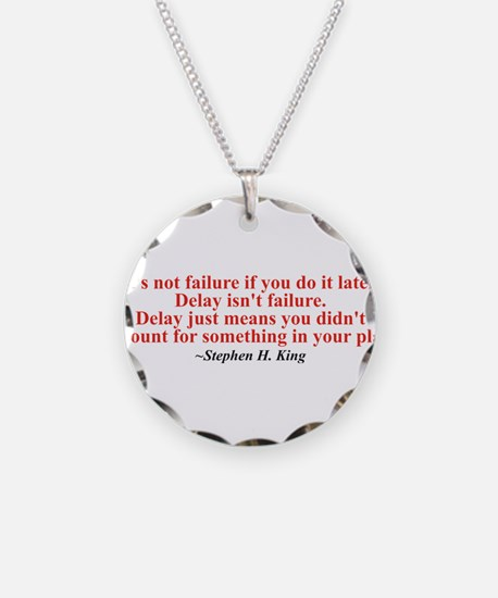 Its not failure Necklace