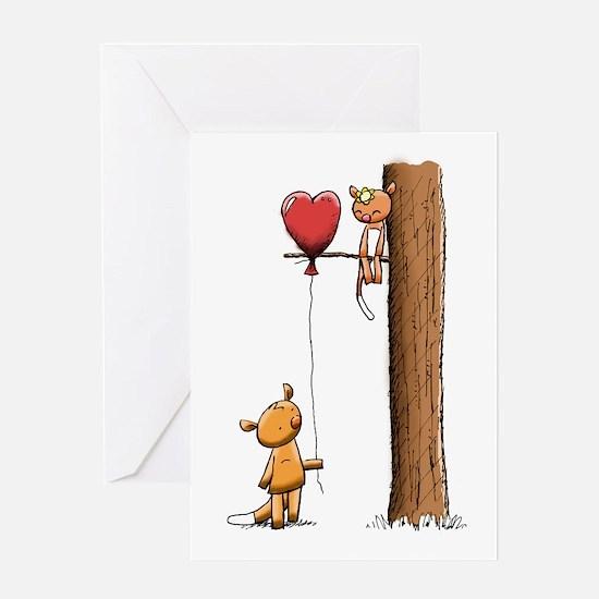 Possum Love Greeting Cards