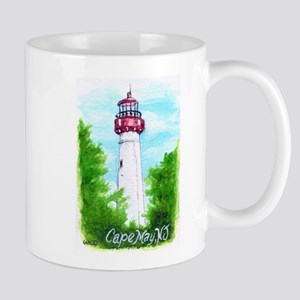 Cape May Lighthouse Mugs