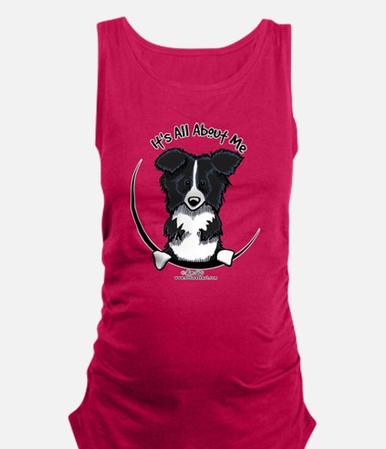 Border Collie IAAM Maternity Tank Top