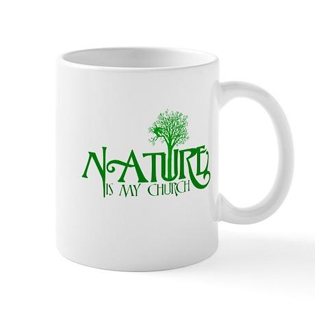 Nature is my Church Mug