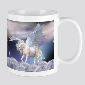 Unicorn In The Clouds Mugs
