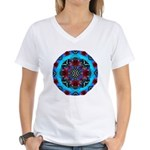 Lotus And Butterfly With Diamonds T-Shirt