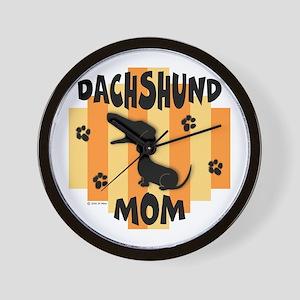 Dachshund Mom Wall Clock
