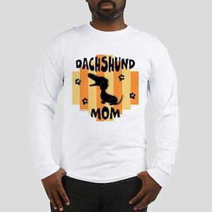 Dachshund Mom Long Sleeve T-Shirt