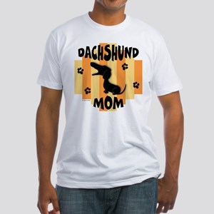 Dachshund Mom Fitted T-Shirt