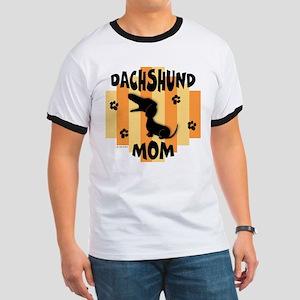 Dachshund Mom Ringer T