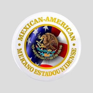 "Mexican-American 3.5"" Button"