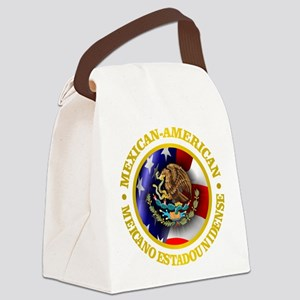 Mexican-American Canvas Lunch Bag