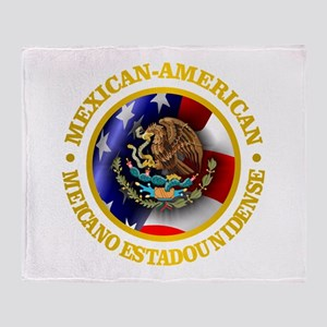 Mexican-American Throw Blanket