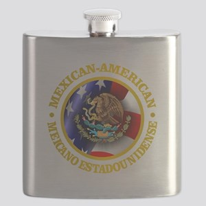 Mexican-American Flask