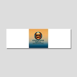 GwS Logo1 Car Magnet 10 x 3