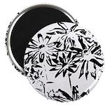 Transparent flowers Magnets
