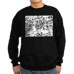 Transparent flowers Sweatshirt