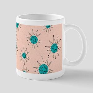 Mid-Century Starburst Mugs