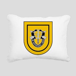 1st SF Group Rectangular Canvas Pillow