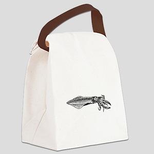 Calamari (squid) Canvas Lunch Bag