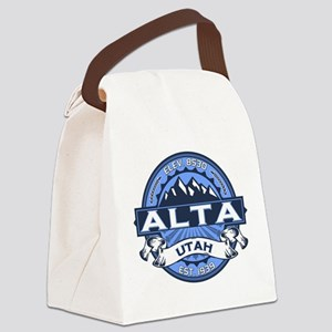 Alta Blue Canvas Lunch Bag