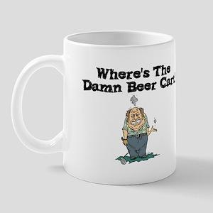 Wheresthedamnbeercart Mugs