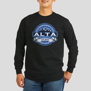 Alta Blue Long Sleeve Dark T-Shirt