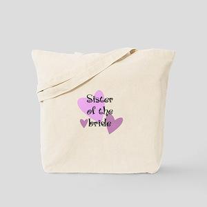 Sister of the Bride Tote Bag