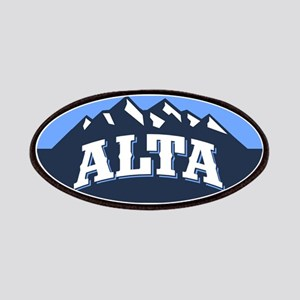Alta Blue Patches