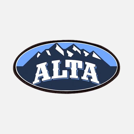 Alta Blue Patches