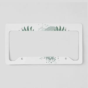 irish crest License Plate Holder