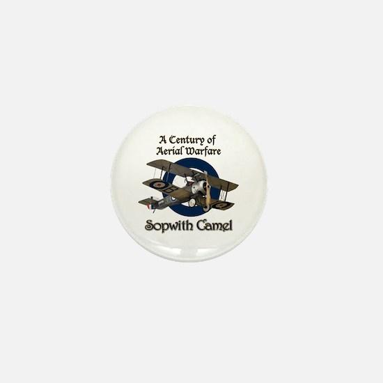 Sopwith Camel Mini Button