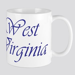 West Virginia Blue Mug