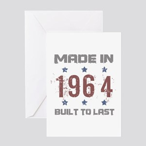 Made In 1964 Greeting Card