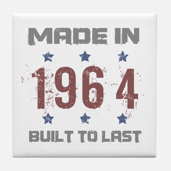 Made In 1964 Tile Coaster