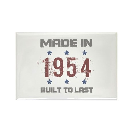 Made In 1954 Rectangle Magnet