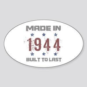 Made In 1944 Sticker (Oval)