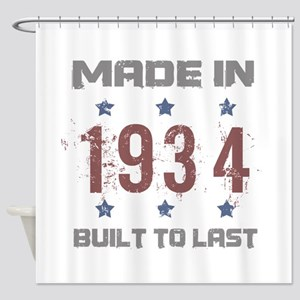 Made In 1934 Shower Curtain