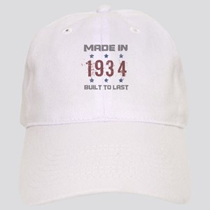 Made In 1934 Cap