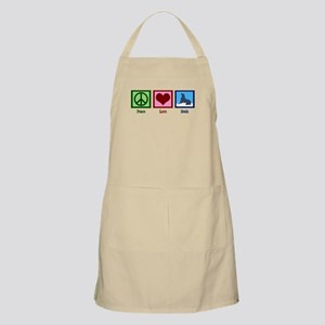 Peace Love Seals Apron