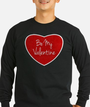 Be My Valentine Conversation Heart Long Sleeve T-S