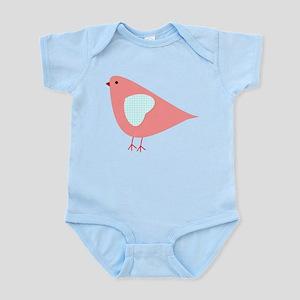 Pink Lovebird Body Suit