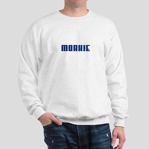 Groovy Blue Morkie Sweatshirt