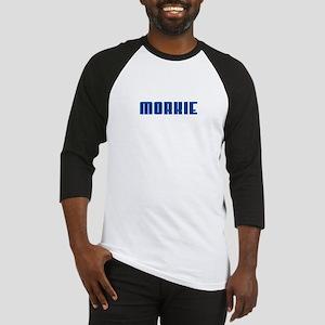 Groovy Blue Morkie Baseball Jersey