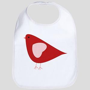 Red Lovebird Bib