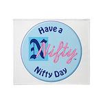 NIftyTShirt_a2 Throw Blanket