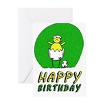 Canary NCFC Happy Birthday Greeting Cards