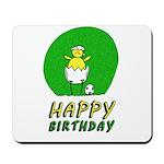 Canary NCFC Happy Birthday Mousepad