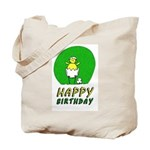Canary NCFC Happy Birthday Tote Bag