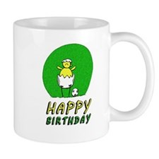 Canary NCFC Happy Birthday Mugs